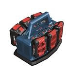 Bosch GAL18V6-80 18V 6-Bay Lithium-Ion Fast Battery Charger