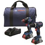 GXL18V-251B25 18V 2-Tool Combo Kit with Freak 1/4