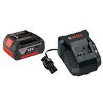 Bosch SKC181-101 18V Lithium-ion Battery & Charger Starter Kit