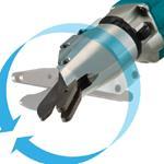DJS800Z Cordless Fibre Cement Shears with Brushl-3