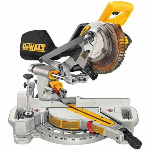DCS361M1 20V MAX  7 1/4  Sliding Miter Saw  w/Batt