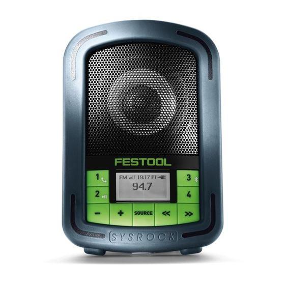 BR10 SYSROCK Jobsite Radio