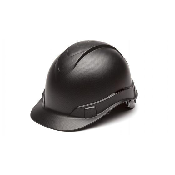 Flat Black RIDGELINE CAP STYLE HARD HAT