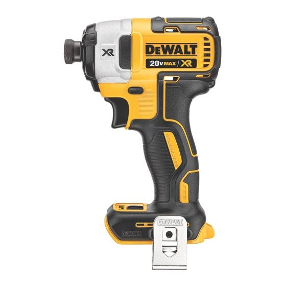 "DCF887B 20V MAX* XR Brushless 1/4"" 3-Speed Impact Driver (Bare)"