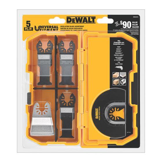 DWA4216 Oscillating Blade 5-Pc