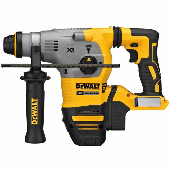 "Dewalt DCH293B 20V Max XR Brushless 1-1/8"" L-Shape SDS Plus Rotary Hammer  Bare"