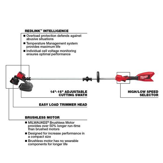 2828-20 - M18 Brushless String Trimmer (Tool-Onl-3