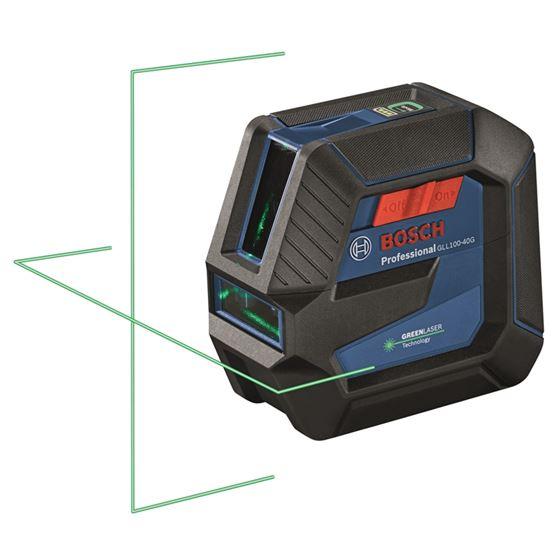 GLL100-40G Green-Beam Self-Leveling Cross-Line Las