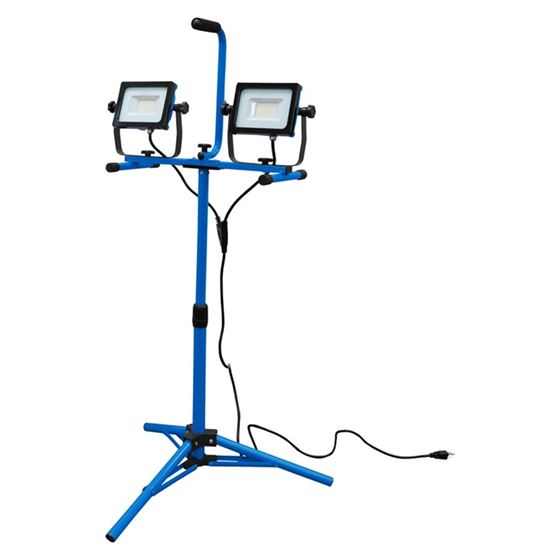 SMD LED Worklight Dual Head W / Tripod  Stand 2x 3