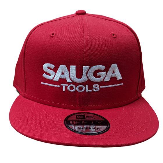 Sauga Tools New Era 9Fifty Red Snap Back