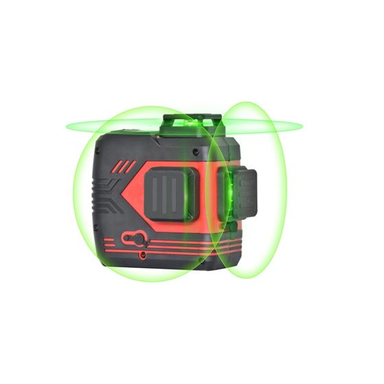 BART-3DGII  360° Self-leveling tri-plane green las