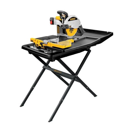 "D24000S 10"" Wet Tile Saw with"
